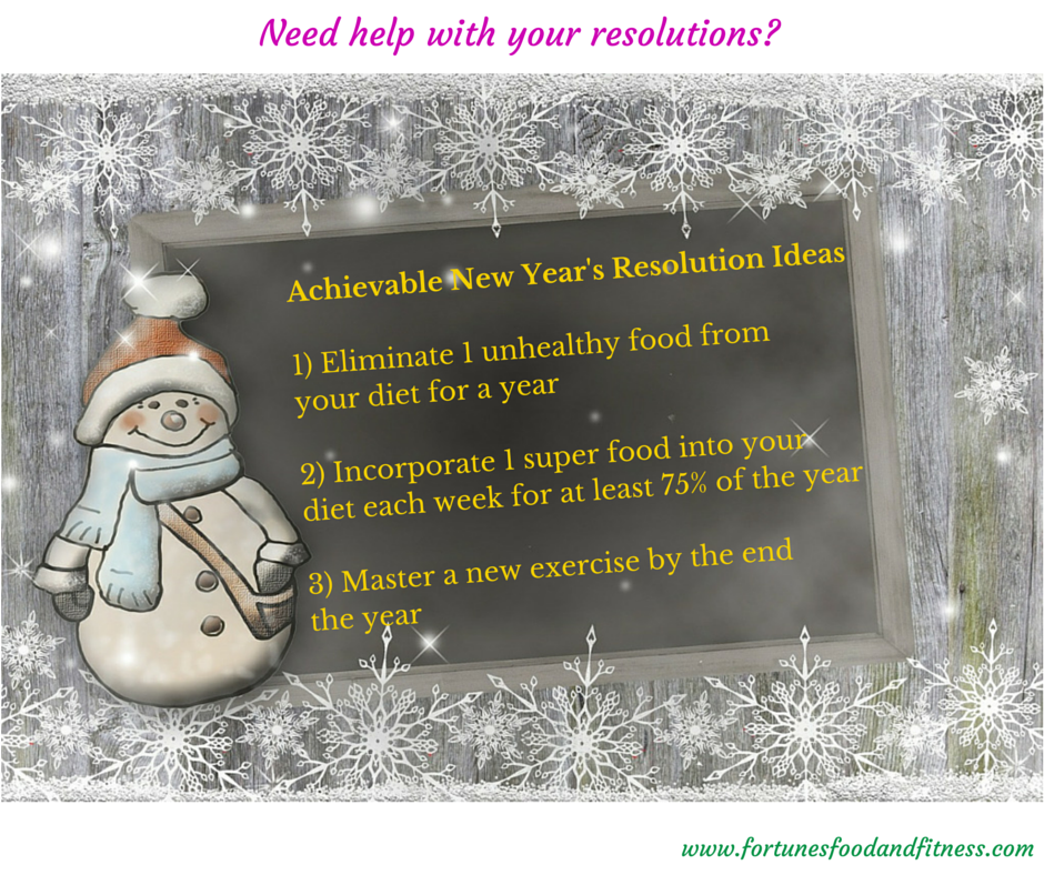 Achievable New Year's Resolution Ideas1)